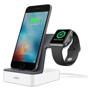Product Belkin PowerHouse Charge Dock for Apple Watch & iPhone White base image