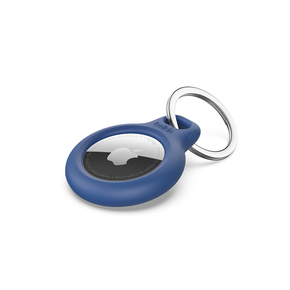 Product Belkin Secure AirTag Holder with Keyring - Blue base image