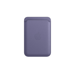 Product Apple Apple iPhone Leather Wallet with MagSafe - Wisteria base image