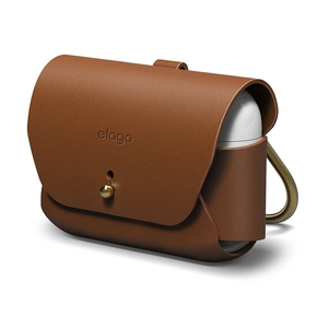 Product Elago Leather Case for Airpods Pro Case Brown base image
