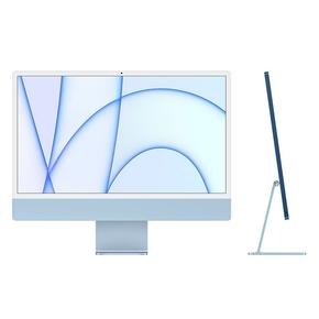 "Product iMac 24"" Retina 4.5K Apple M1 Chip / 8-Core GPU / 16GB / 512GB - Blue - BTO base image"