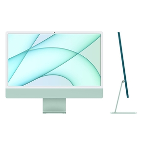"Product iMac 24"" Retina 4.5K Apple M1 Chip / 8-Core GPU / 16GB / 256GB - Green - BTO base image"