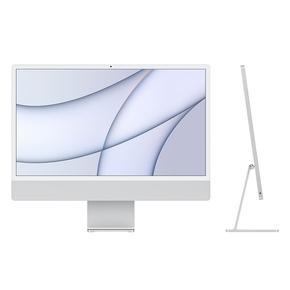 "Product iMac 24"" Retina 4.5K Apple M1 Chip / 8-Core GPU / 16GB / 256GB - Silver - BTO base image"
