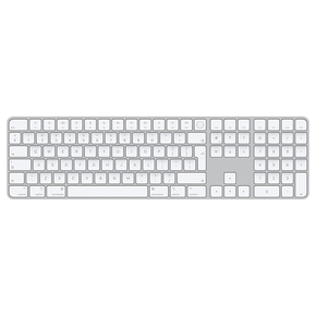 Product Apple Magic Keyboard with Numeric Keypad & Touch ID for Apple M1 - Greek base image