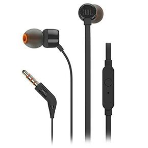 Product JBL T110 In-Ear Headphones Black base image