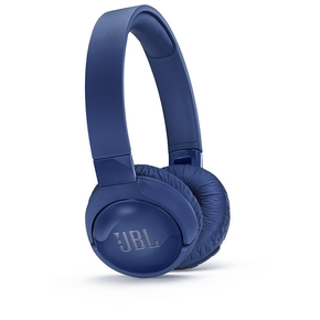 Product JBL Tune 600BT On-Ear Noise Cancelling Bluetooth Headphones Blue base image