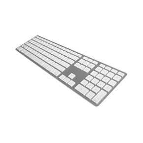 Product Matias Backlit Wireless Aluminium Keyboard Silver UK base image