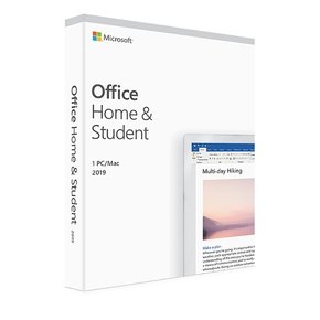 Product Microsoft Office 2019 για Mac, έκδοση Home & Student (Multilingual) base image