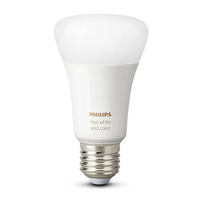 Product Philips Hue White and Color Ambiance E27 Bulb 2-Pack Gen 2 base image