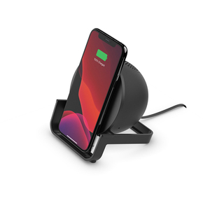 Product Belkin BOOST↑CHARGE 10W Wireless Charging Stand and Speaker - Black base image