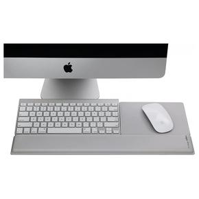 Product Rain Design mRest Wrist Rest & Mouse Pad - Silver base image