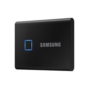 Product Samsung T7 Touch Portable SSD 2TB USB 3.2 - Black base image