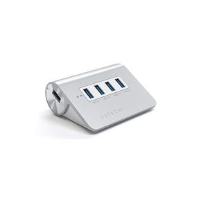 Product Satechi Hub 4-port USB 3.0 Aluminum Silver base image