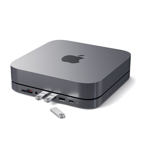Product Satechi Mac mini and Hub Stand Aluminum Space Gray base image