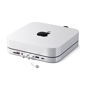 Product Satechi Mac mini and Hub Stand Aluminum - Silver base image
