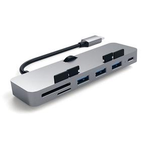 Product Satechi USB-C Clamp Hub Pro for iMac Space Gray base image