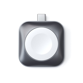 Product Satechi USB-C Magnetic Charging Dock for Apple Watch - Space Gray base image