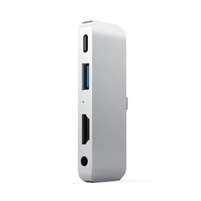 Product Satechi USB-C Mobile Pro Hub For iPad Pro - Silver base image