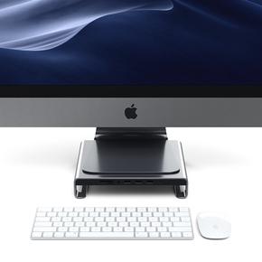 Product Satechi USB-C Monitor Hub Aluminium Stand Space Gray base image