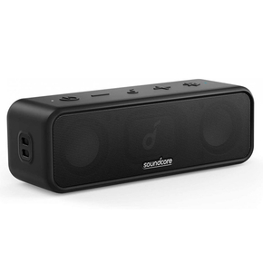Product Anker SoundCore 3 Bluetooth Waterproof Speaker - Black base image