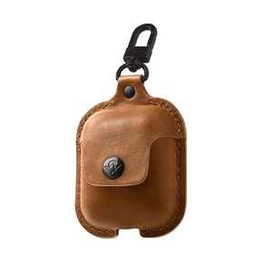 Product Twelve South AirSnap for AirPods Cognac base image