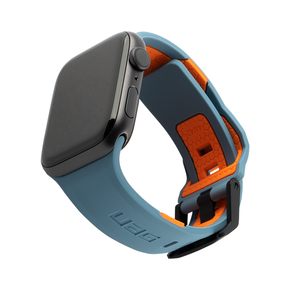 Product UAG Civilian Silicone Watch Strap 44/42mm for Apple Watch - Slate/Orange base image