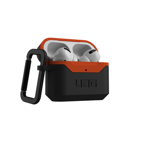 Product UAG Standard Issue Hardcase 001 for Apple Airpods Pro - Black/Orange base image