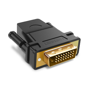 Product UGREEN HDMI Male to DVI 24+1 Male Adapter base image