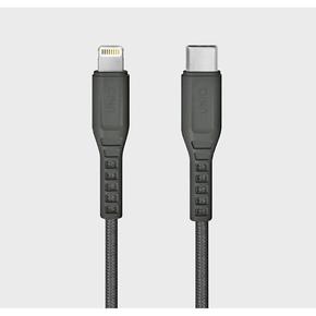 Product Uniq Flex Strain Relief USB-C To Lightning Cable 1.2m Grey base image